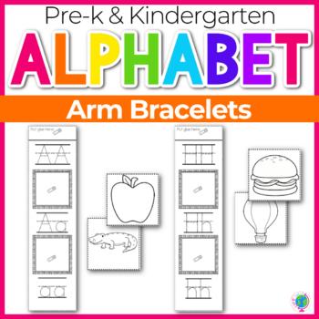 Alphabet Activities Arm Bracelets