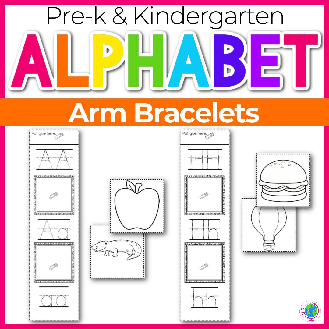 Alphabet Bracelet for Letter Recognition