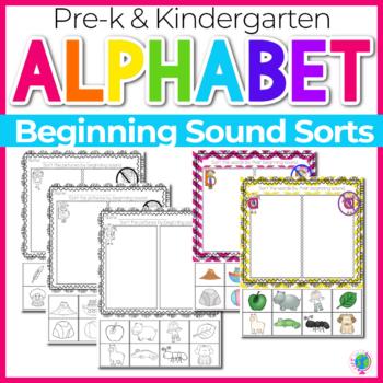 Alphabet Activities Beginning Sound Sorts
