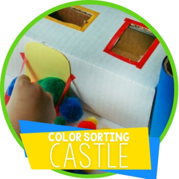 Color Sorting Castle for Preschoolers Featured Image