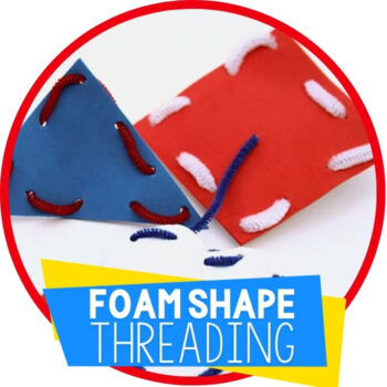 Create Fine-Motor Shapes from Craft Foam Featured Image