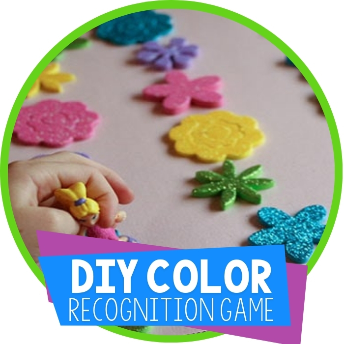 Create a Color Recognition Game with Stickers