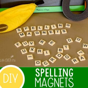 DIY Alphabet Magnets for Spelling Activities Featured Square Image