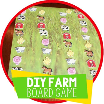 DIY Farm Animal Game with Free Printable Featured Image