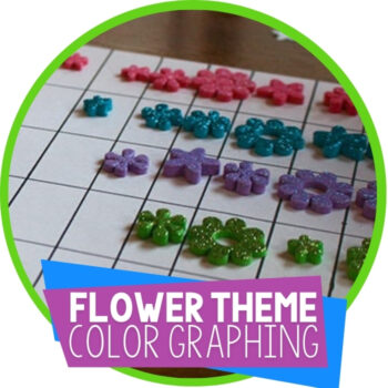 DIY Flower Graph for Learning Colors Featured Image