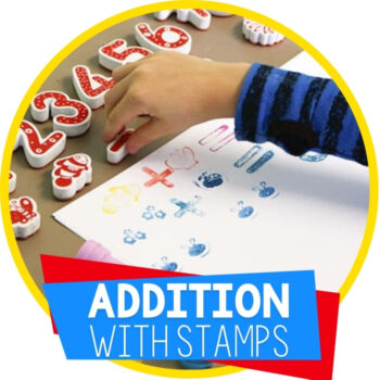 Hands-On Addition Activity with Stamps Featured Image