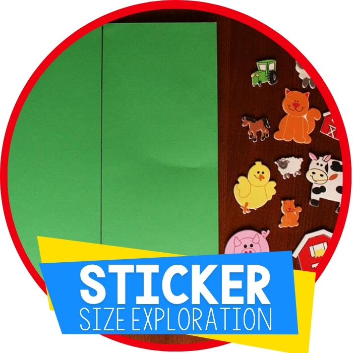 Learning About Size with Stickers Featured Image