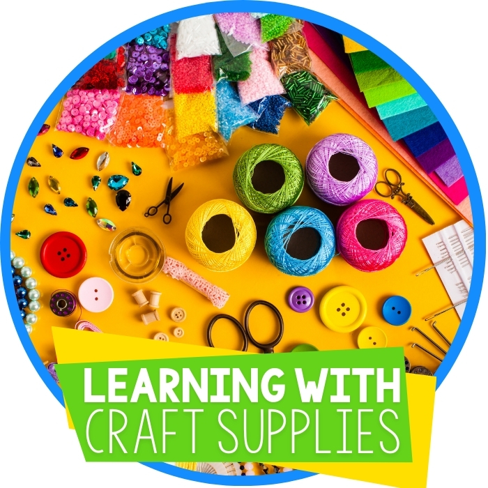 Learning with Craft Supplies: 21 Day Series