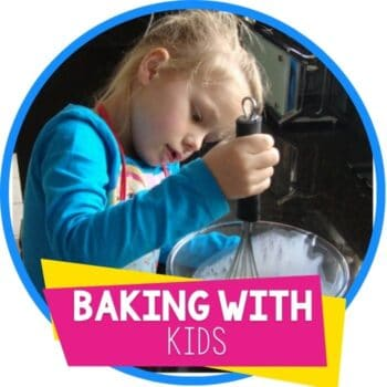 baking with kids Featured Image