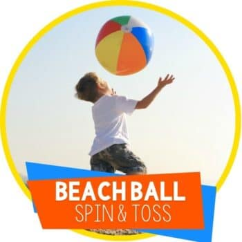 beach ball spin and toss Featured Image