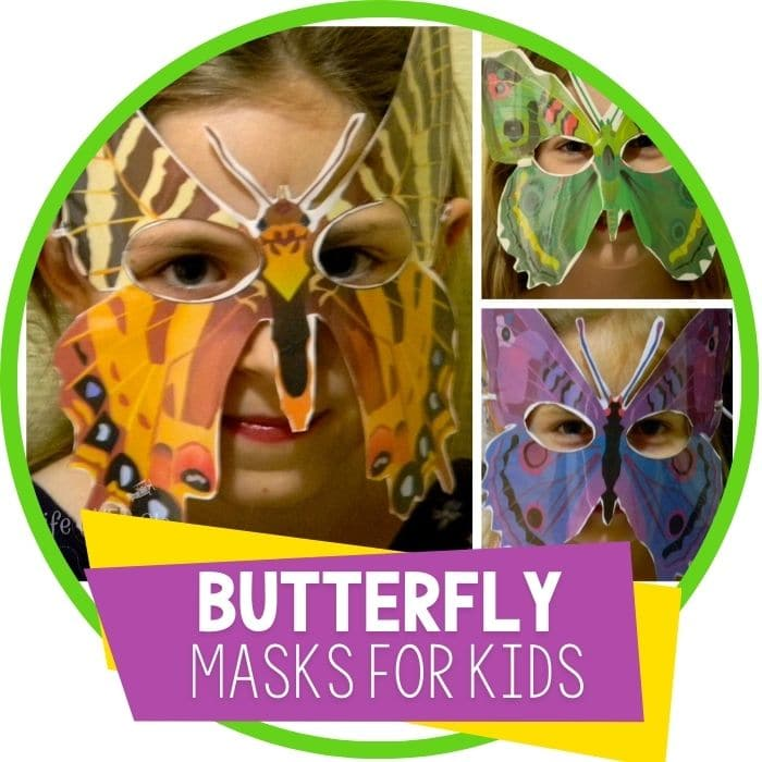 butterfly masks for kids Featured Image