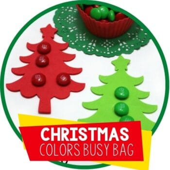 christmas colors candy busy bag Featured Image