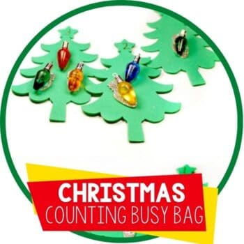 christmas lights counting busy bag Featured Image