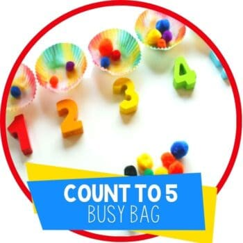 count to 5 busy bag Featured Image