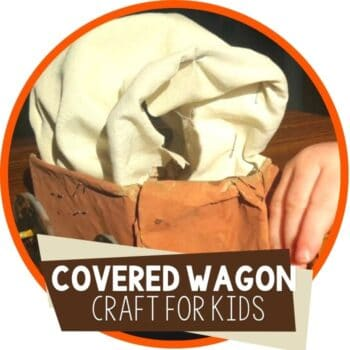 covered wagon craft for kids Featured Image