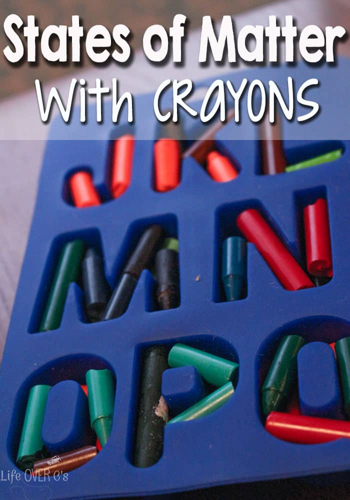 States of Matter with Crayons