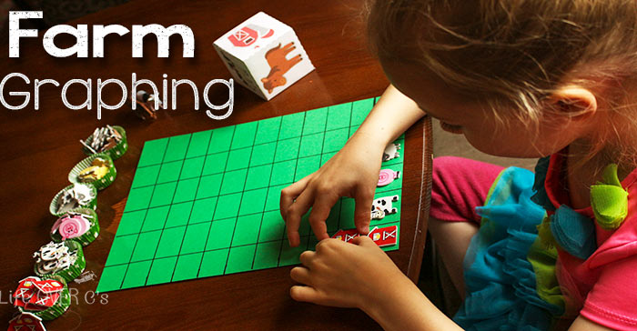 Graphing is so much more fun when it involves stickers! This farm graphing activity is so easy to prepare and so much fun!