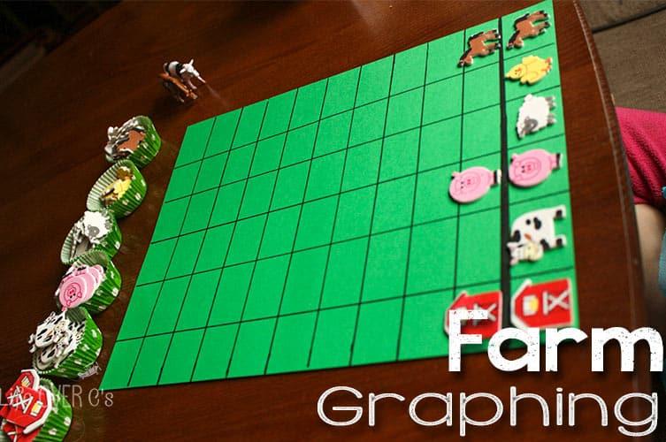 diy farm animal graph and free printable