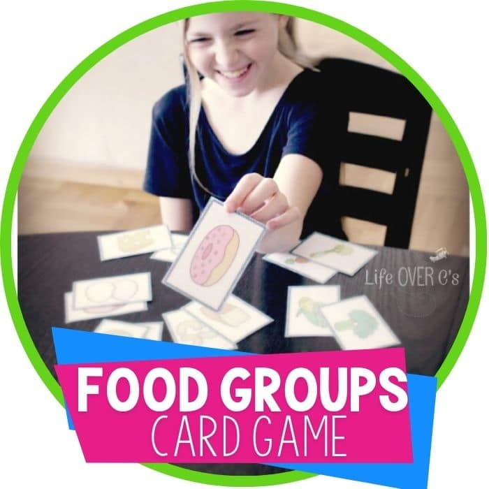 Free Food Group Card Games