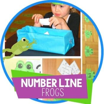 frog theme number line Featured Image