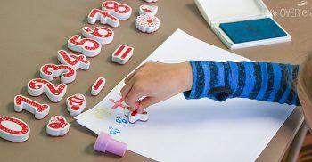 Hands-on Addition Activity! Fun, multi-sensory math!