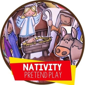 nativity pretend play Featured Image