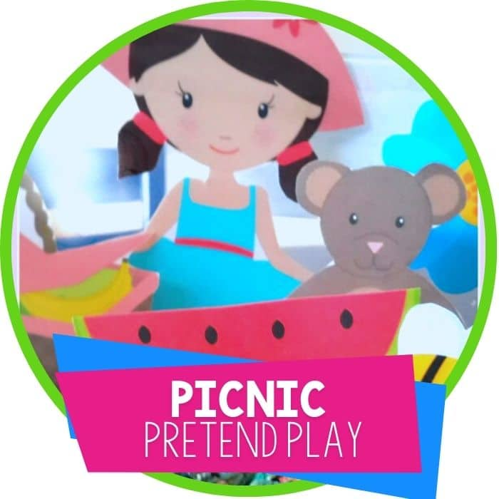 Free Picnic Printable for Sensory Play