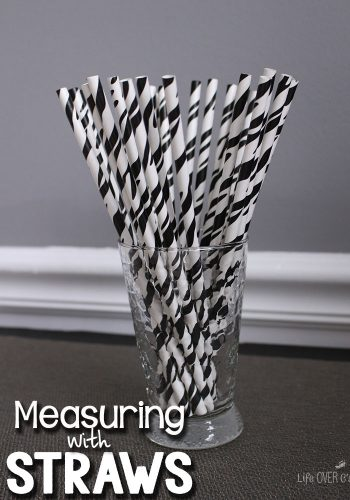 Use straws to learn about measuring! Plus, lots of other ideas for using straws in learning.