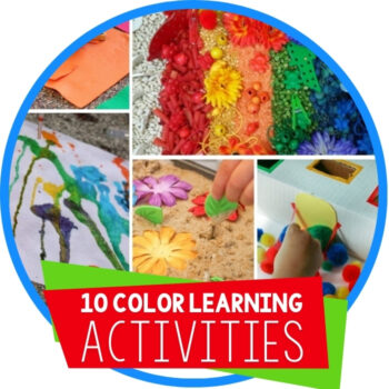 10 Ways to Learn About Colors with Your Preschooler Featured Image