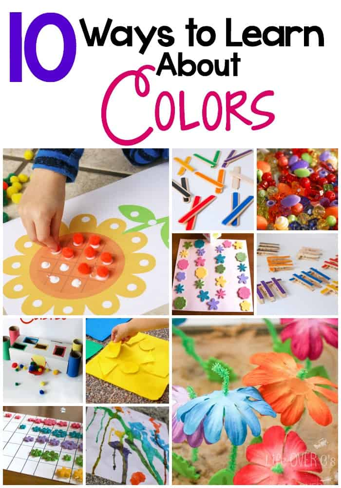 10 Ways to Learn About Colors with Your Preschooler