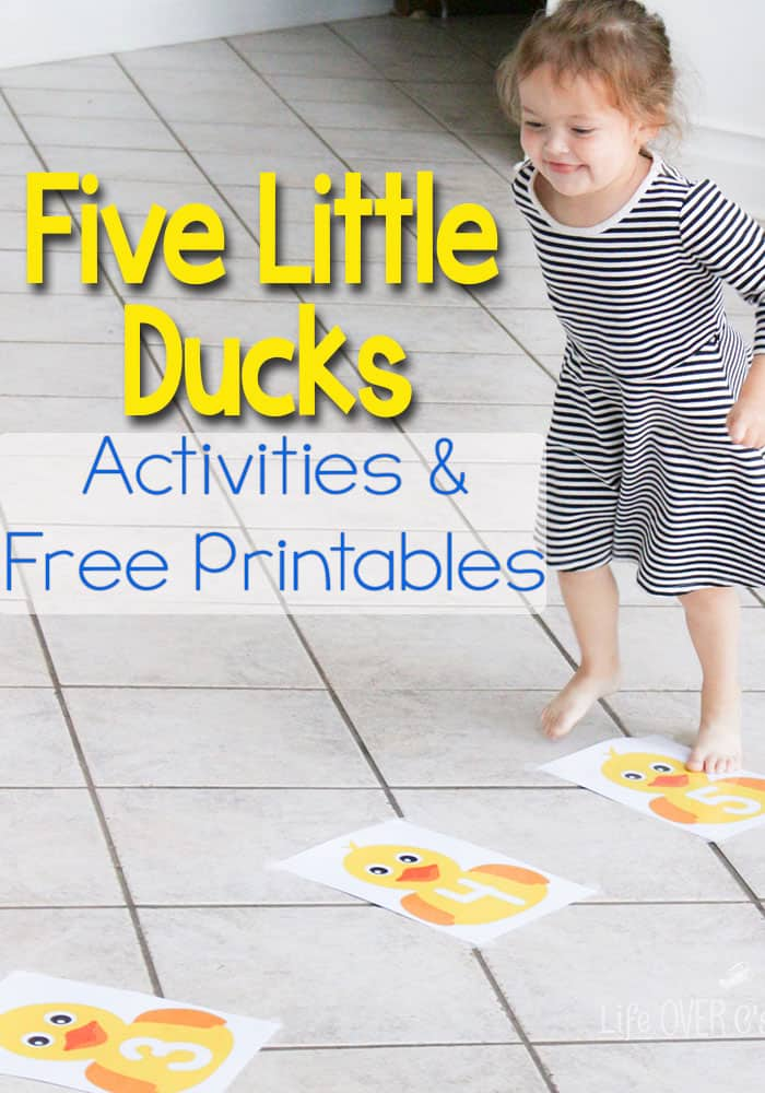 Five Ducks Gross Motor Activity