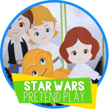 Star Wars Play Dough Set for Pretend Play Featured Image