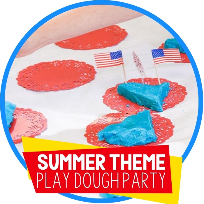 Summer Play Dough Party Featured Image