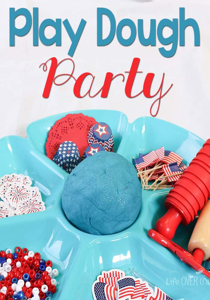 Boredom Busters for Kids - Play Dough Party