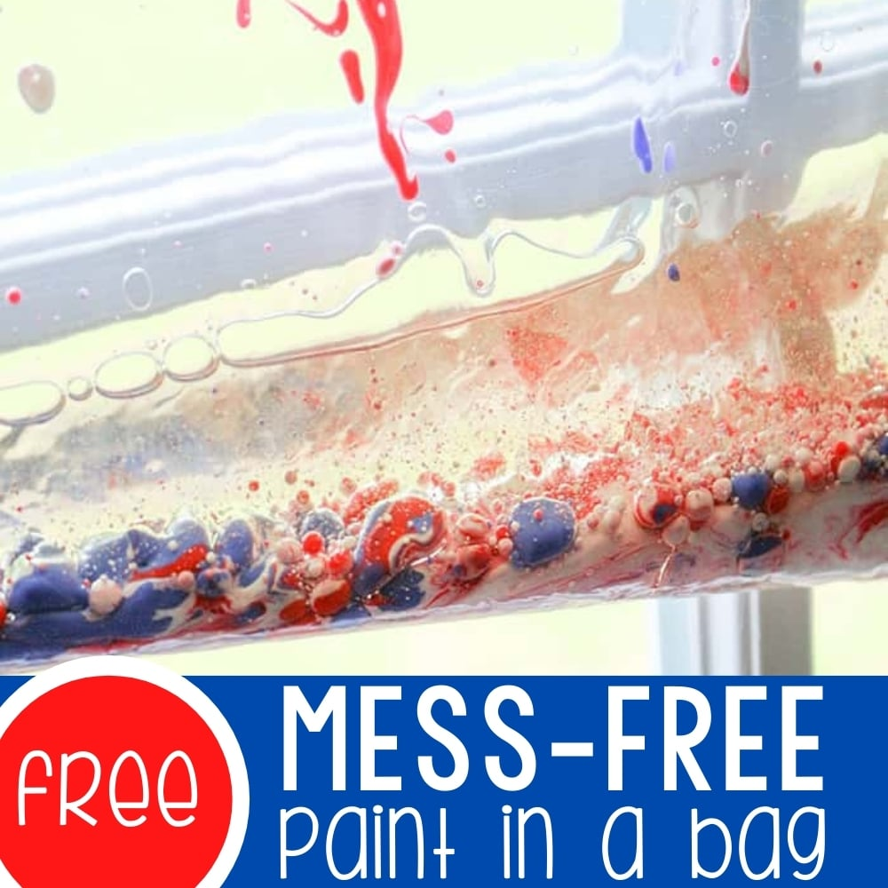 Exploring Mess-Free Paint in a Bag