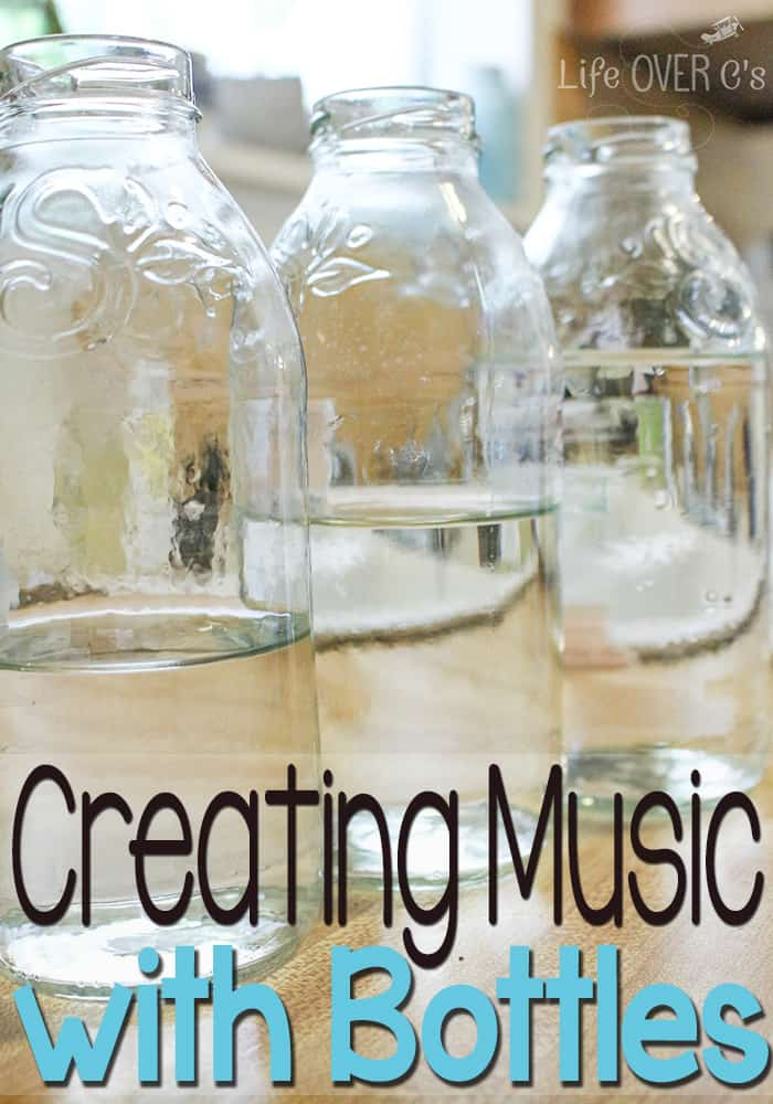 Use water and glass bottles to make these simple musical instruments! A perfect hands-on activity for language development!
