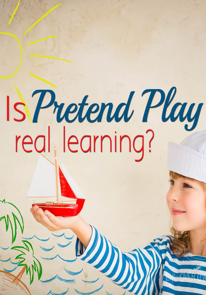 What does pretend play show anyway? How do we really know if kids are learning when they are playing?