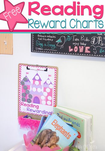 Reading can be so much fun and definitely rewarding with these free reading chart printables.