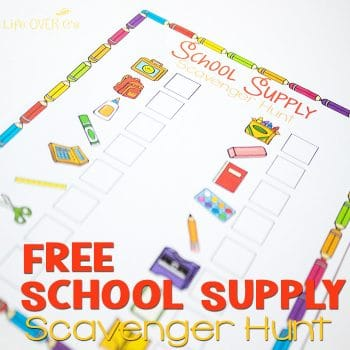 Taking your kids back to school shopping? Or even just trying to pack their new backpack? THis free back to school scavenger hunt is a fun way to keep them busy, so that you can focus on getting everything you need.