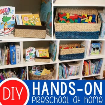 Hands-on Preschool at Home Featured Square Image