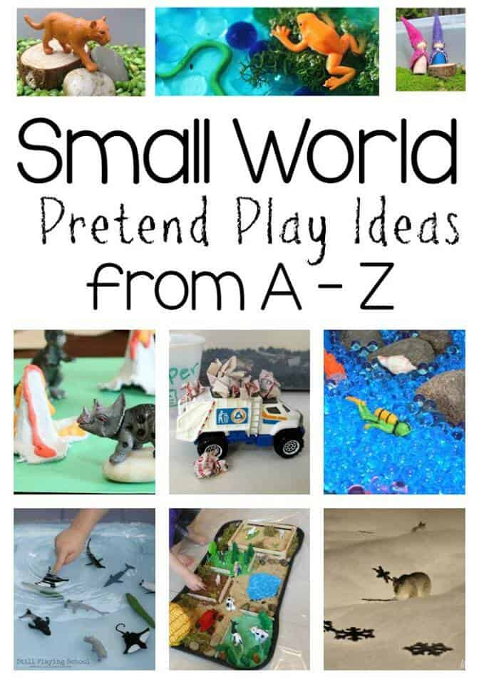 Discover great small world pretend play ideas with this great series!