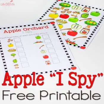 This Apple Orchard I Spy & Scavenger Hunt is awesome! I love the bright colors!