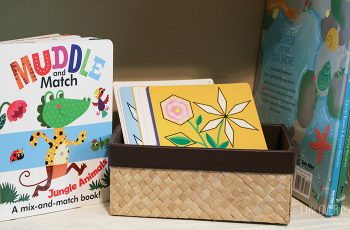 Prepare a hands-on preschool with these practical tips from a mom of 4. Even works for small spaces & small budgets.