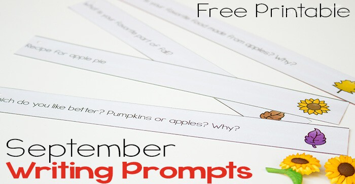 30 Free Journal Prompts For September