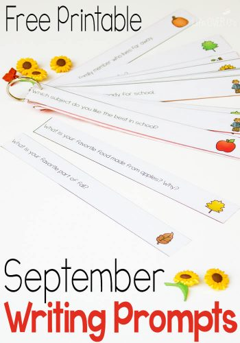These 30 free journal prompts for September are a great way to add writing into your day!