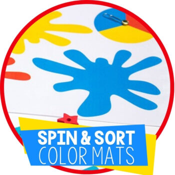 Color Sorting Mats with Spinners Featured Image