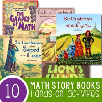 Hands-On Activities with Math Story Books Featured Square Image