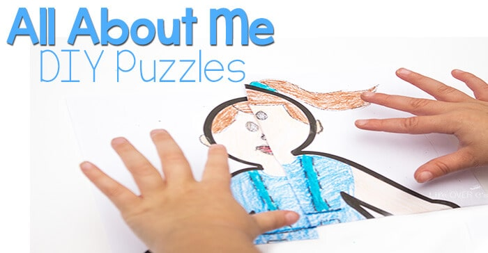Pinterest Home All: All About Me DIY Puzzles