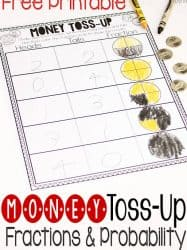 Free Money Fractions and Probability Activity