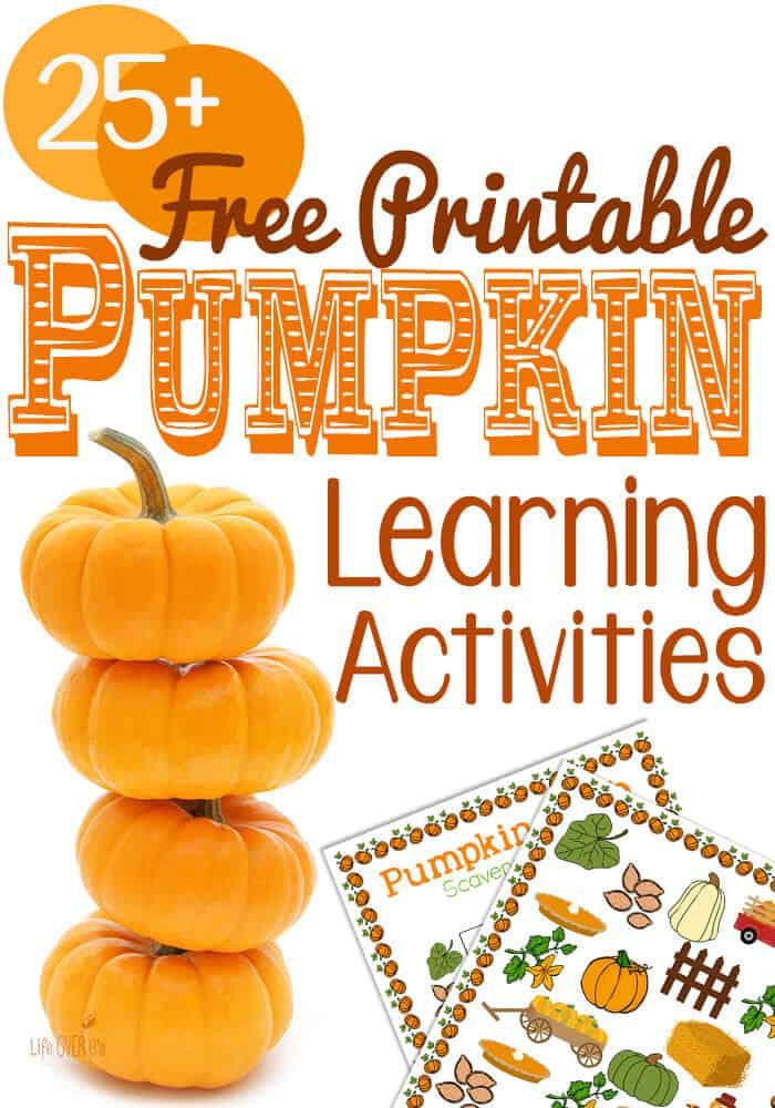 It's just an image of Geeky Preschool Pumpkin Printables